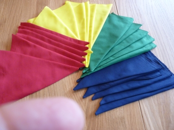It was a busy week but I managed to squeeze in time to help my daughter, Hannah, clean up and decorate the library at school and make some bunting in house colours to cheer up the environment. What a good week!
