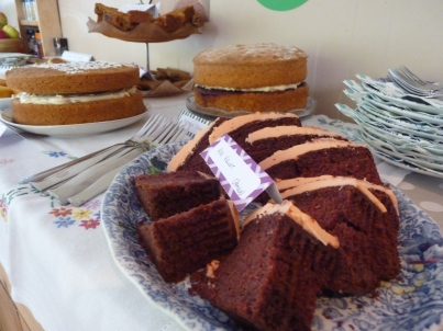 Edible donations from neighbours and family - scrumptious!