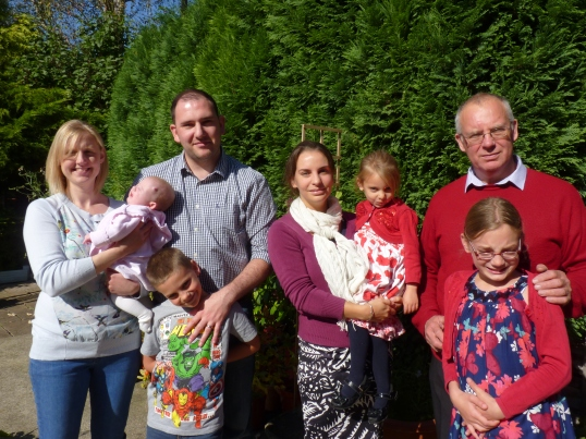 So we all had a happy, sunny Sunday together. I am very glad and very proud of my family.
