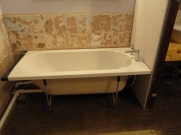 ew bath in place.