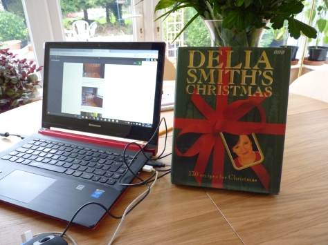 You definitely know it's Christmas when you get out the Delia Smith Christmas book! Now for Stir up Sunday!Ho Ho Ho-peful!