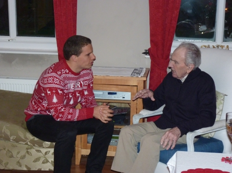 "... and Gramps. ""Now, David, have I told you the story about ...?"""