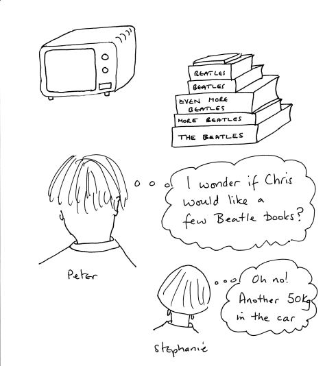 Beatles books and Microwave